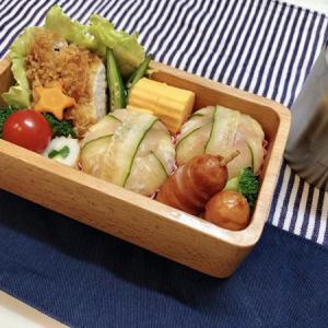 7月20日(月) きゅうりと生ハムの手毬寿司弁当