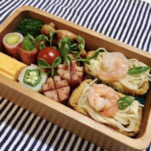 7月21日(火) リクエストの素麺いなり弁当