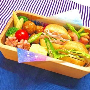 9月3日(木) 手毬サンド(生ハムきゅうり&ローストチキンレタス)弁当