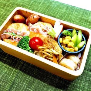 9月4日(金) 手毬サンドと焼きそば弁当