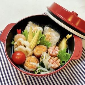 9月2日(木) 鮭ハラミのおにぎりサンドと豚肩ロースのにんじん巻弁当