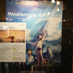 ウィーンで「君の名は」「天気の子」の同時上映を観てきた