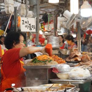 ✳︎ソウル旅②〜朝食は広蔵市場でビピンパとユッケを!〜✳︎