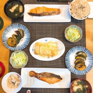 ✳︎朝ごはんのような和食夜ごはんの献立!✳︎