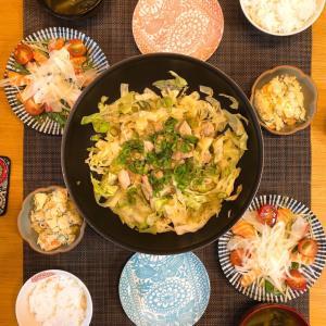 ✳︎鶏モモのガーリックポン酢炒めとカルパッチョ✳︎