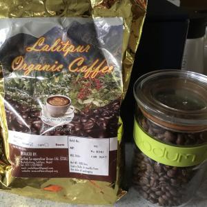 ネパールのコーヒー Lalitpur(ラリトプール)Organic coffee