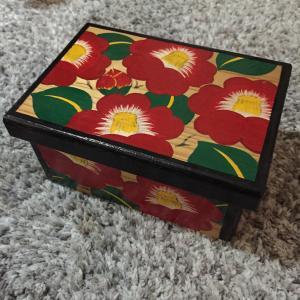 美しい手書きの箱