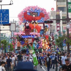 八戸三社大祭 (お還り)