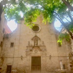 ガウディが最後まで通っていた「サン・フェリペ・ネリ教会」