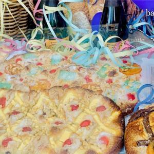 サンフアンの日に食べるお菓子「コカ・デ・サンフアン」