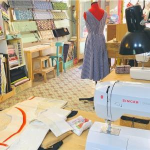 気軽に裁縫を楽しめるバルセロナの洋裁工房「COSTURETAS SOCIAL CULB」|グラシア地区|ミシンの時間貸しサービスあり