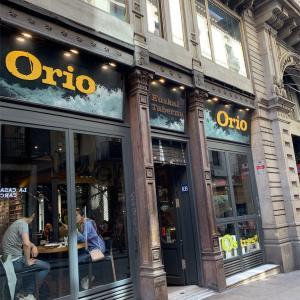 【バルセロナのバル】Orio(オリオ)・ゴシック地区