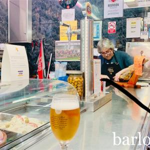 【バルセロナのバル】クンセプシオ市場のバル「Barmand」