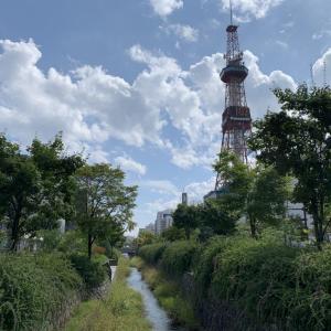 北海道旅行・テレビ塔とクラーク博士居住地跡(札幌)