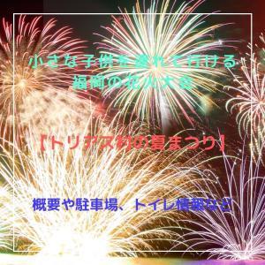 小さな子供を連れて行ける福岡の花火大会【トリアス村の夏祭り】概要や駐車場、トイレ情報など