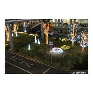 藤沢駅南口のクリスマスイルミネーション。今日はお休みします。
