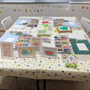 【開催報告♡】パステルアート教室♡ママがアッと驚く作品ができました♡