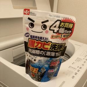 洗濯機を洗おう!