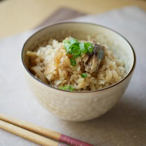 鯖缶で簡単炊き込みご飯♪新米の季節にぜひおすすめ!