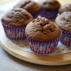 【レシピ】チョコチップマフィン♪ホットケーキミックスで簡単に!