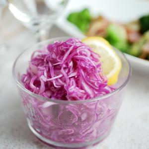 紫キャベツのマリネ♪ 栄養豊富な野菜で疲れた体を癒しましょう!