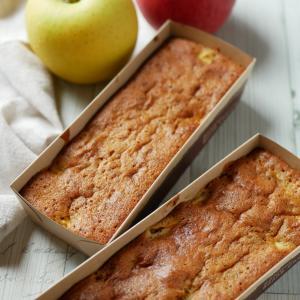 ホットケーキミックスで簡単!りんごと紅茶のケーキ♪
