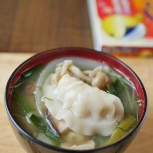 餃子の味噌汁♪