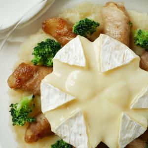 とろ~りチーズがたまらない!じゃがいも×カマンベール×豚肉の甘辛焼♪
