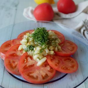 夏はトマトが美味しいですね~♪