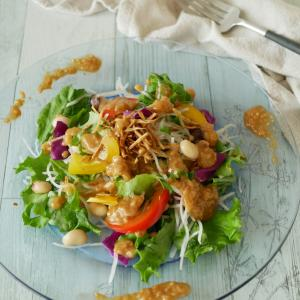野菜の日!醤油糀ドレッシングでサラダ♪