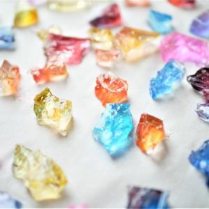 食べる宝石!きらきら輝く琥珀糖を簡単に手作り♪材料たった3つ!