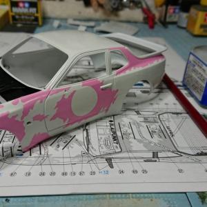 1/24 ポルシェ 944 ターボ レーシング 製作 04