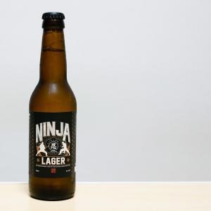 忍者ラガー NINJA LAGERってまずい? ビールテイスト。