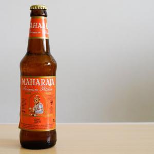 マハラジャビール プレミアムピルスナー これがインドの定番ビール