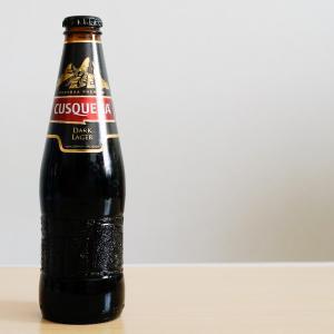 クスケーニャ ダークラガー レーズンのような甘さのペルー産ビール。