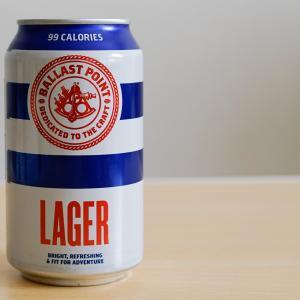 バラストポイント・ラガー 海・山・BBQ キャンプに最高のビール!