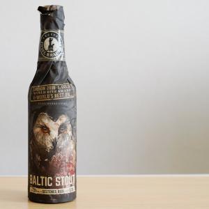 バルティックスタウト インゼル醸造所の漆黒めちゃうまビール。
