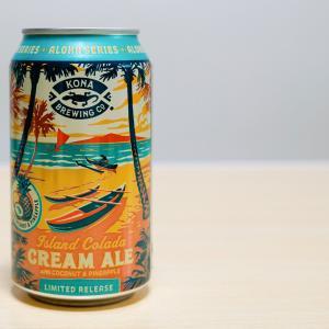 アイランドコラーダクリームエール ピナコラーダにインスパイアされたハワイアンビール。