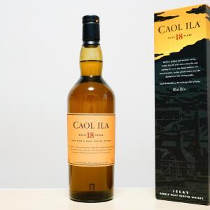 【カリラ 18年】 アイラの入門の初心者にも飲みやすい。バランス感抜群の高級ウィスキー。