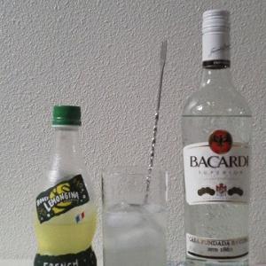 【カクテルレシピ】 自宅でカクテル 182杯目 「ラム・ハニーレモンジーナ」