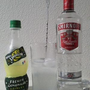 【カクテルレシピ】 自宅でカクテル 183杯目 「ウォッカ・ハニーレモンジーナ」