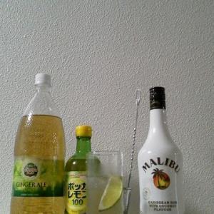 【カクテルレシピ】 自宅でカクテル 195杯目 「マリブ・バック」
