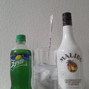 【カクテルレシピ】 自宅でカクテル 203杯目 「マリブ・スプライト」