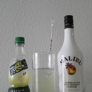 【カクテルレシピ】 自宅でカクテル 236杯目 「マリブ・ハニーレモンジーナ」