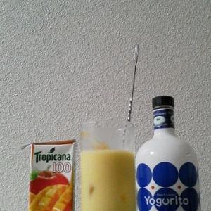 【カクテルレシピ】 自宅でカクテル 300杯目 「ヨーグリート・マンゴー」