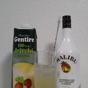 【カクテルレシピ】 自宅でカクテル 375杯目 「マリブ・ライチ」