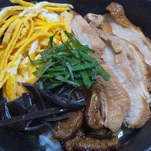 鹿児島県の名物 鶏飯(けいはん)二回目の登場