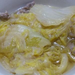 白菜クタクタ煮込み  めんつゆバージョン