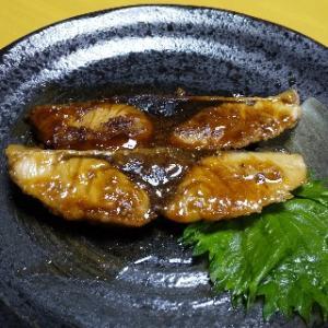 久しぶりな魚料理  ブリの照り焼き