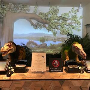 恐竜が待ってる「変なホテル大阪」心斎橋に宿泊